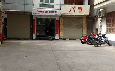69 m2 residential land for sale in District Ba Dinh