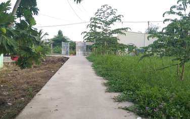 126 m2 residential land for sale in Vinh Long