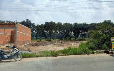 80 m2 residential land for sale in District Duc Hoa