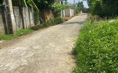 180 m2 residential land for sale in Thi Xa Son Tay