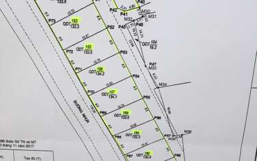 133 m2 land for sale in Thanh pho Hai Duong