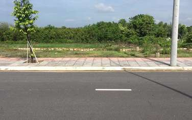 100 m2 residential land for sale in Phu My town