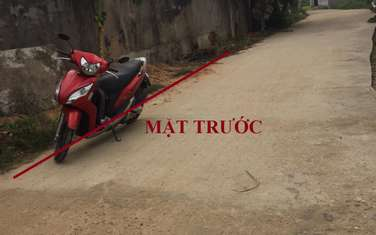 160 m2 residential land for sale in District Son Tinh