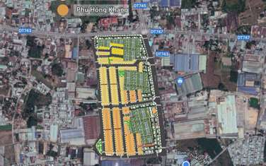 64 m2 residential land for sale in District Thuan An