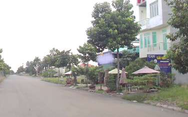 100 m2 land for sale in District Nhon Trach