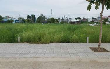 100 m2 residential land for sale in Thanh pho Long Xuyen