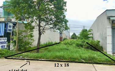 216 m2 residential land for sale in District Ben Cat
