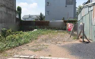 57 m2 residential land for sale in District Thu Duc