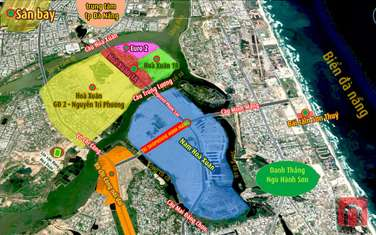 250 m2 residential land for sale in District Cam Le