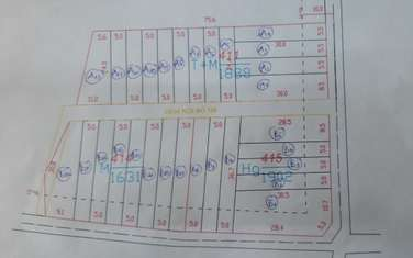 100 m2 residential land for sale in District Lam Ha