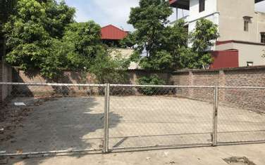 100 m2 residential land for sale in District Gia Lam