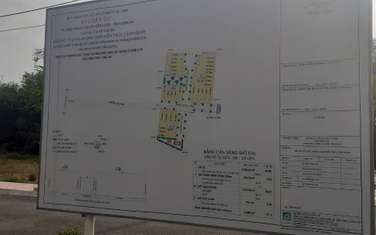 100 m2 residential land for sale in District Can Duoc