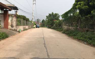 1500 m2 residential land for sale in District Ba Vi