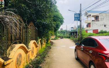 165 m2 residential land for sale in Thi Xa Son Tay