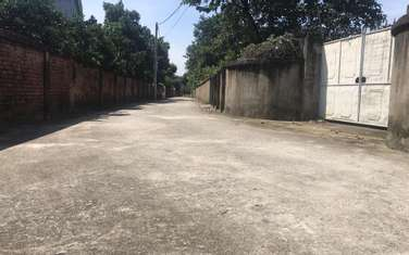 1300 m2 residential land for sale in Thi Xa Son Tay