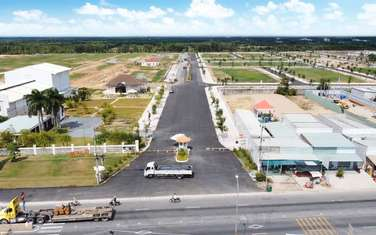 90 m2 land for sale in District Can Gio