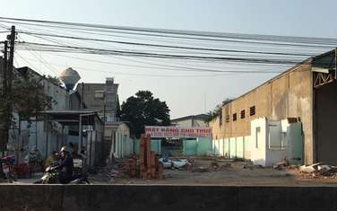 1124 m2 residential land for rent in District Trang Bom