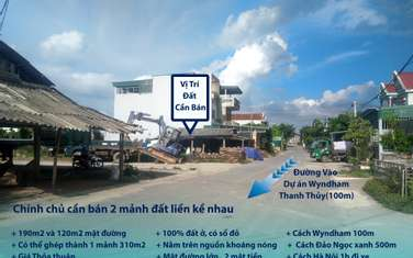 125 m2 residential land for sale in District Thanh Thuy