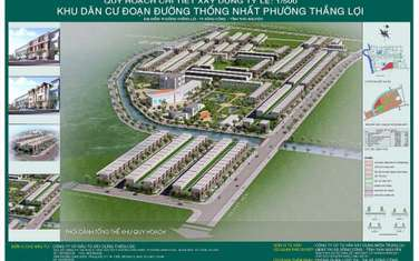 100 m2 land for sale in Thi xa Song Cong