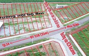 1200 m2 residential land for sale in District Chon Thanh