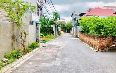 40 m2 residential land for sale in District Gia Lam