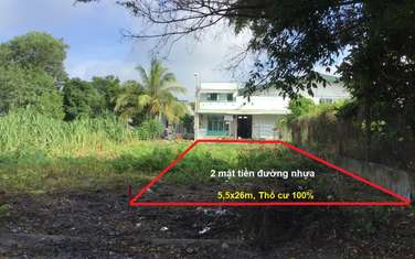 140 m2 residential land for sale in District Duong Minh Chau