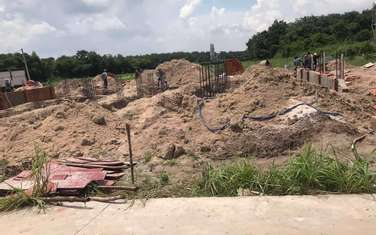 100 m2 land for sale in District Chon Thanh