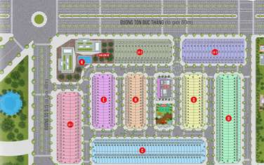 105 m2 residential land for sale in District Nhon Trach