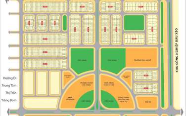 100 m2 land for sale in District Trang Bom