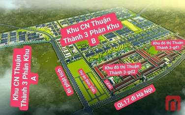 90 m2 residential land for sale in District Thuan Thanh