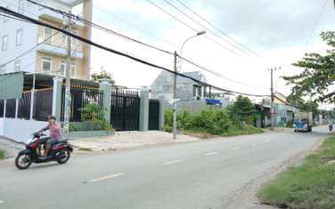 85 m2 residential land for sale in District Binh Chanh